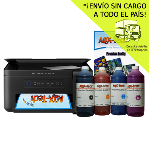 Impresora Multifunción Epson L4150 Wifi + 4 Litros Tinta